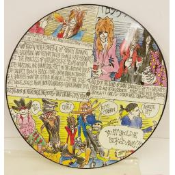 THE DOGS D'AMOUR trail of tears, 12 inch picture disc, CHIXP 20