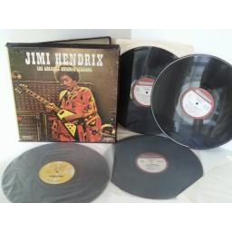 JIMI HENDRIX the greatest original sessions