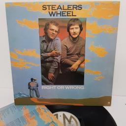 "STEALERS WHEEL, right or wrong, AMLH 68293, 12"" LP"