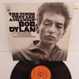 "BOB DYLAN, the times they are a-changin', 62251, 12"" LP"