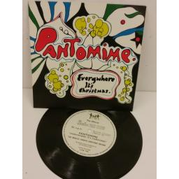 "THE BEATLES pantomime ""everywhere it's christmas"", 7 inch flexi disc, no insert, LYN 1145"