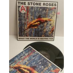 THE STONE ROSES what the world is waiting for INCLUDES SPECIAL LIMITED EDITION FULL COLOUR PRINT. ORE T 13