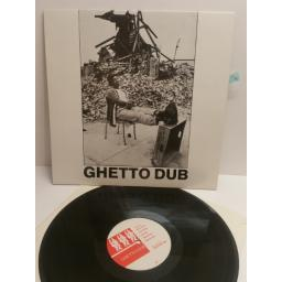 GHETTO DUB music made in Jamaica recorded at King Tubby's channel one studios CENTURY 900