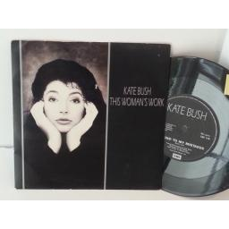 KATE BUSH this womans work, 7 inch single, EM 119