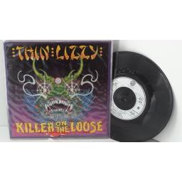 "THIN LIZZY killer on the loose, 7"" single, LIZZY 77"