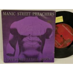 MANIC STREET PREACHERS love's sweet exile / repeat, PICTURE SLEEVE, 7 inch single, 6575827