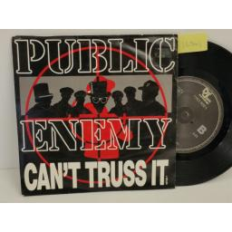 PUBLIC ENEMY can't truss it, PICTURE SLEEVE, 7 inch single, 657530 7