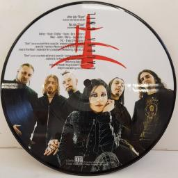"LACUNA COIL, closer (exclusive radio/video mix and edit), B side (exclusive acoustic version), 77589-1, 7"" single, picture disc"