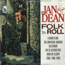 JAN & DEAN, folk 'n roll