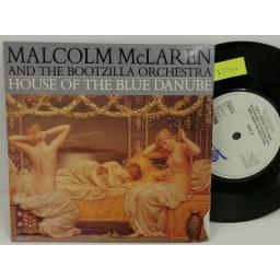 MALCOLM MCLAREN AND THE BOOTZILLA ORCHESTRA house of the blue danube, PICTURE SLEEVE, 7 inch single, WALTZ 4
