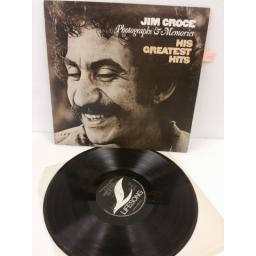 JIM CROCE photographs & memories: his greatest hits, ELSLP 5000