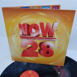 "NOW THAT'S WHAT I CALL MUSIC! 28, NOW 28, 2x12"" LP"