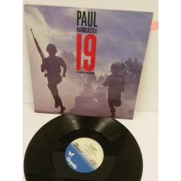 PAUL HARDCASTLE 19 (extended version), 12 inch single, CHS 12 2860