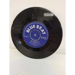 "PRINCE BUSTER'S ALL STARS, al capone, B side one step beyond, 45/BB 324, 7"" single"