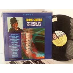 FRANK SINATRA my kind of broadway, FS 1015