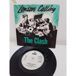 THE CLASH, london calling, side B armagideon time, CBS 8087, 7'' single