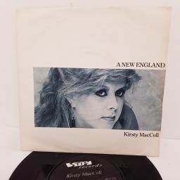 "KIRSTY MACCOLL, a new england, B side patrick, BUY 216, 7"" single"