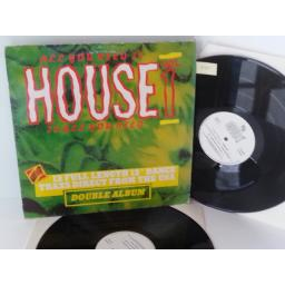 VARIOUS all you need is house, house is all you need volume 1, double album, DWLP 1