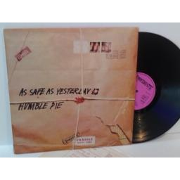 SOLD Humble Pie AS SAFE AS YESTERDAY IS