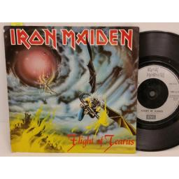 IRON MAIDEN flight of icarus, PICTURE SLEEVE, 7 inch single, EMI 5378