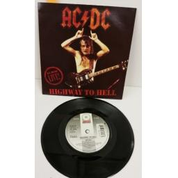 AC/DC highway to hell, 7 inch single, B 8479