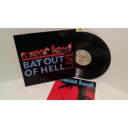 MEATLOAF bat out of hell extended live edit PLUS 20/20 world tour 1987 programme, RIST 41