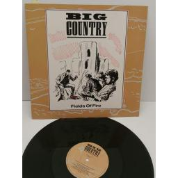 "BIG COUNTRY fields of fire (12"" EP), COUNT 212"
