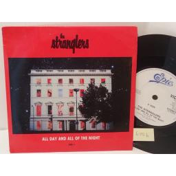"THE STRANGLERS all day and all of the night, 7"" single, VICE 1"