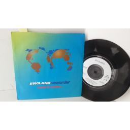 ENGLAND NEWORDER world in motion, 7 inch single, FAC 293-7