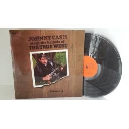 JOHNNY CASH johnny cash sings the ballads of the true west volume 2, BPG 62591