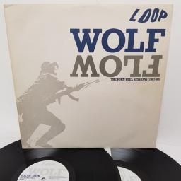 "LOOP, wolf flow (the john peel sessions (1987-90)), REACTOR LP3, 2x12"" LP"