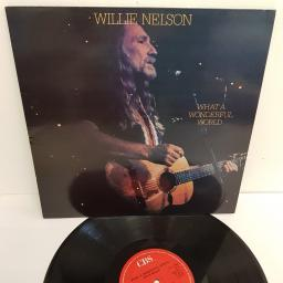 "WILLIE NELSON, what a wonderful world, 462514 1, 12"" LP"