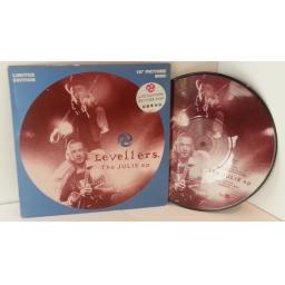 LEVELLERS The Julie ep. Ltd Edition 10 inch picture disc No.8690. wokx2042