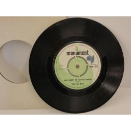 TONY JOE WHITE groupy girl, 7 inch single, MON 1043