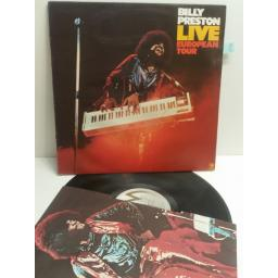 BILLY PRESTON live european tour AMLH 68265