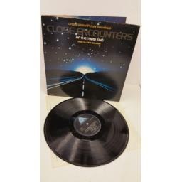 JOHN WILLIAMS close encounters of the third kind (original motion picture soundtrack), gatefold, DLART 2001