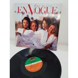 "EN VOGUE, born to sing, 7567-82084-1, 12"" LP"