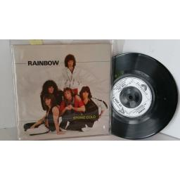 RAINBOW stone cold, 7 inch single, POSP 421