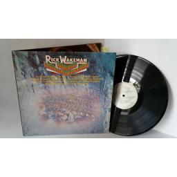 RICK WAKEMAN journey to the centre of the earth, gatefold sleeve with centre attached booklet, AMLH 63621