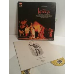 Delius Koanga London SO Charles Groves 2 LP box set. SLS 974