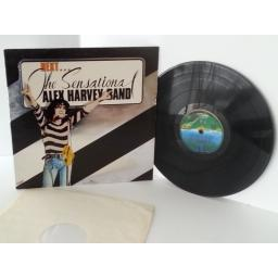 SENSATIONAL ALEX HARVEY BAND next, vinyl LP
