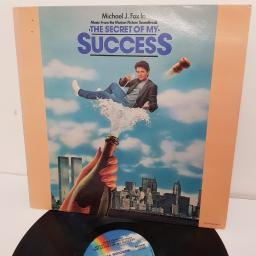 """SOLD : THE SECRET OF MY SUCCESS - MUSIC FROM THE MOTION PICTURE SOUNDTRACK, MCF 3380, 12"""" LP"""