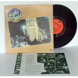 BOTHY BAND After hours, recorded live in Paris. Irish folk.Top copy. First UK...