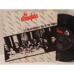 "THE STRANGLERS let me introduce to the family, 7"" single, BP 405"