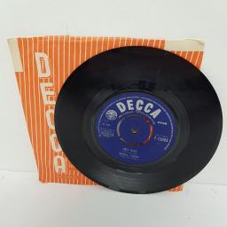 """SOLD : SMALL FACES, hey girl, B side almost grown, F.12393, 7"""" single"""