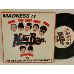 MADNESS the return of the los palmas PICTURE SLEEVE, 7, PICTURE SLEEVE, 7 inch single, BUY 108