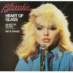 SOLD : BLONDIE, heart of glass, side B heart of glass instrumental, 111.337, 7'' single