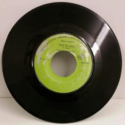 DUDLEY CAMPBELL this is love, 7 inch single, ORB 03