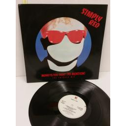 SIMPLY RED money$ too tight (to mention) (the cutback mix), 12 inch single, EKR 9TX