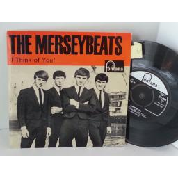 THE MERSEYBEATS i think of you, 7 inch single, TE 17423